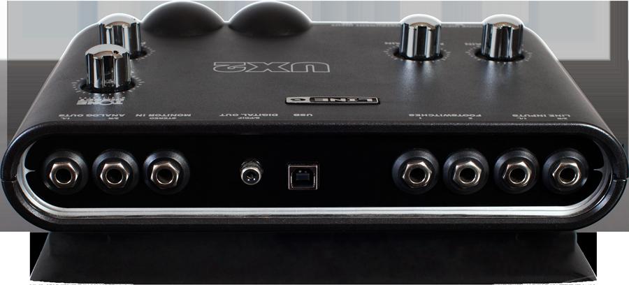 Line 6 POD Studio UX2 I/O panel image