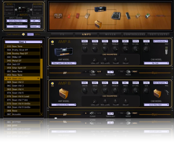 Line 6 POD HD500X Multieffekt Gitar | musikkhandel no