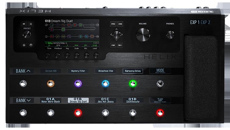 Review: Line 6 Firehawk FX Multieffect Processor — Video | Guitar ...