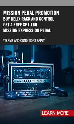 Helix Mission Pedal Feb