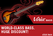 Grab the revolutionary Line 6 Variax® Bass at a HUGE discount, while supplies last!