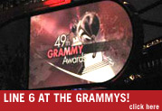Line 6 at The Grammys
