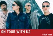 LINE 6 ARTISTS ON TOUR WITH U2!