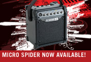 Micro Spider™ is Battery-Powered and Action-Packed!