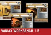 Variax® Workbench 1.5 für die elektrischen und akustischen Gitarren ist da!