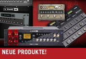 Line 6 stellt neue Bass- und Gitarrenprodukte für den Live- und Studioeinsatz vor