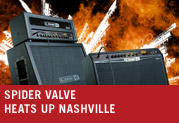 SPIDER VALVE OPEN HOUSE HEATS UP NASHVILLE