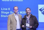 Line 6 Wins Prestigious Pro Audio Innovation Award