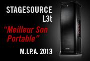 Stagesource L3t - Vainqueur aux M.I.P.A. pour