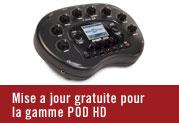 MISE À JOUR GRATUITE POUR POD HD, POD HD PRO ET POD HD500!