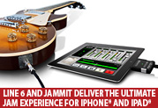 Line 6 and Jammit Partner to Deliver the Ultimate Guitar Jam-along Experience for iPhone® and iPad®