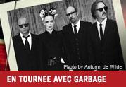 Line 6 en tournée avec Garbage