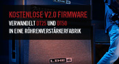 Kostenlose v2.0 Firmware für DT25/DT50