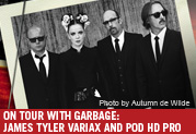 Line 6 on Tour with Garbage