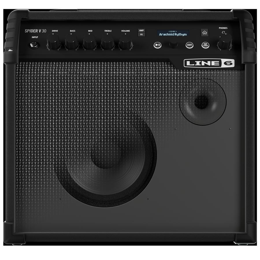 line 6 spider v speakers