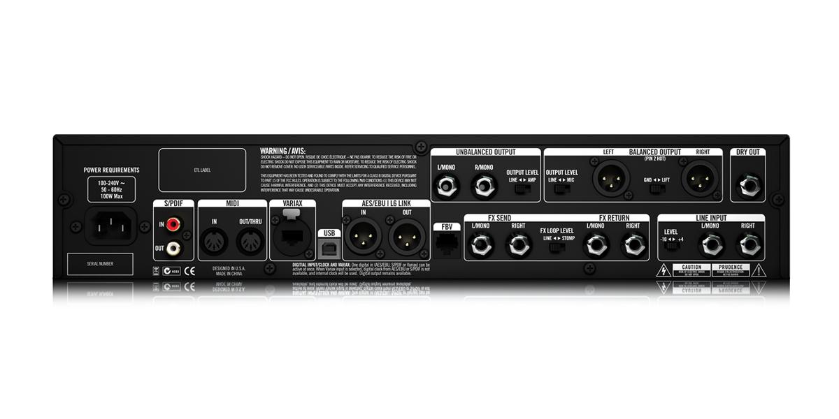 line 6 pod hd x series multi effects pedals