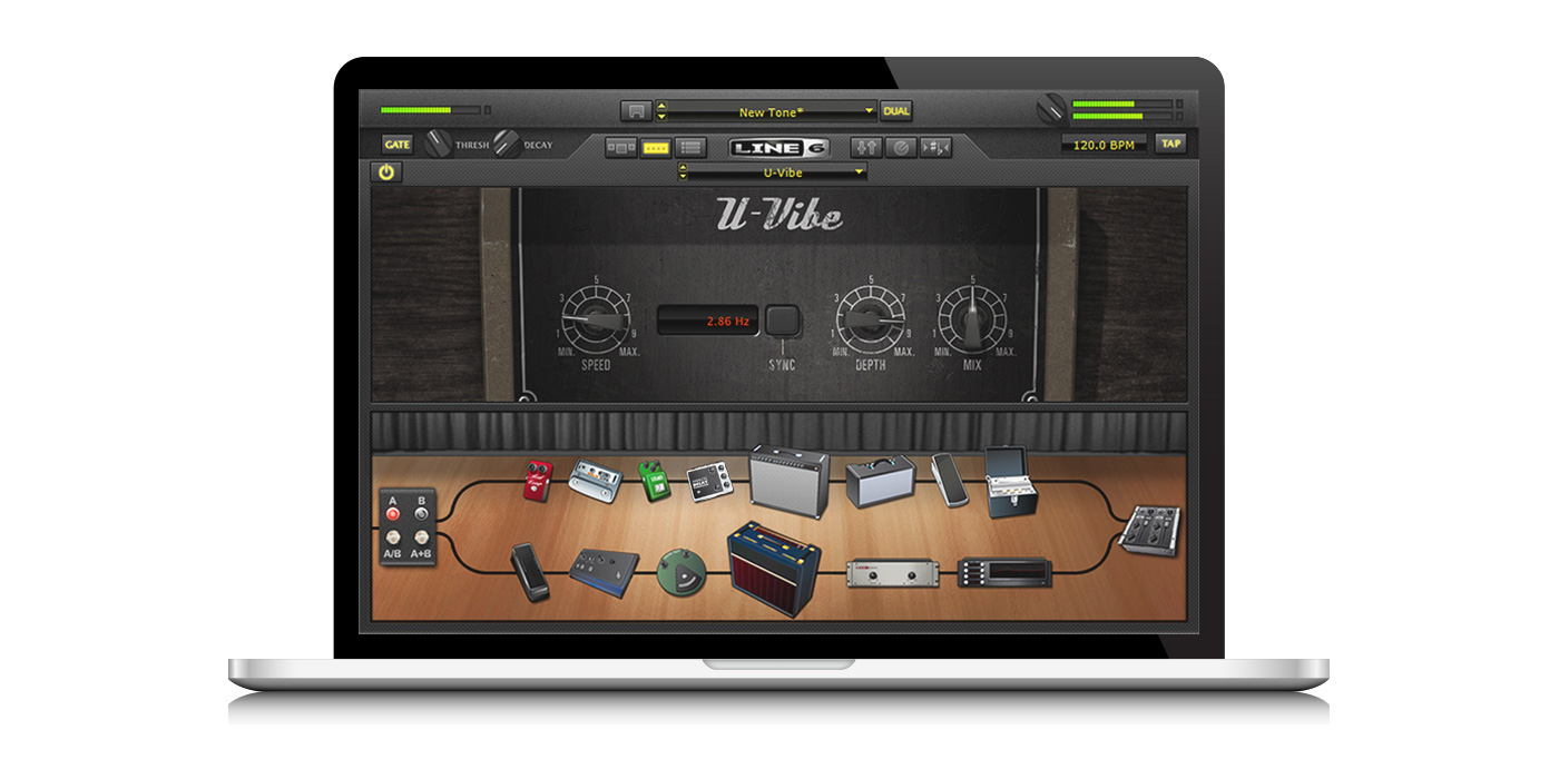 Line 6 POD Farm 2 plugin for almost any DAW for recording guitar into a  computer