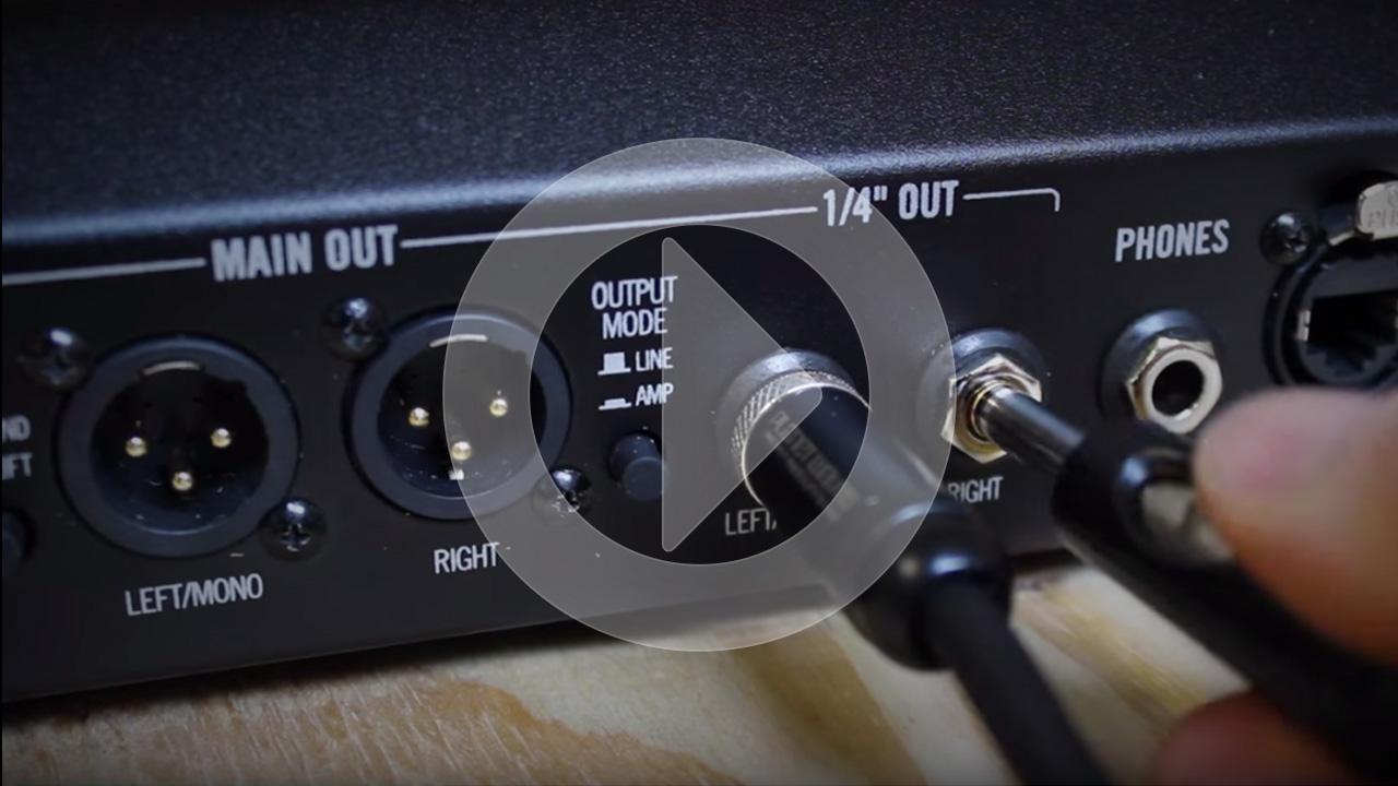 Connectivity - Firehawk FX   Line 6