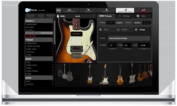 Line 6 James Tyler Variax modeling guitars workbench software