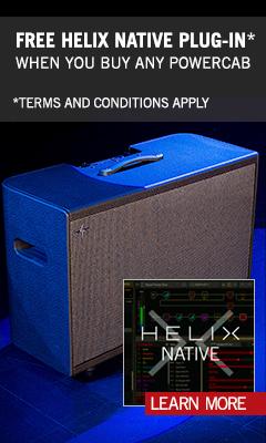 Powercab & Helix Native Promo BE