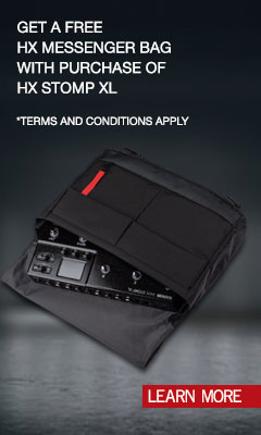 HX Stomp XL w Mssg Bag Promo