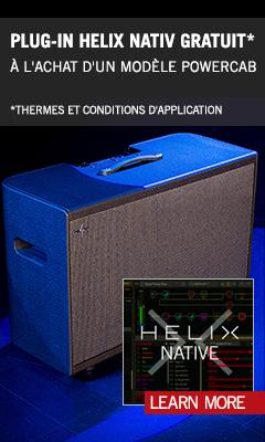 Powercab & Helix Native Promo FR Ext