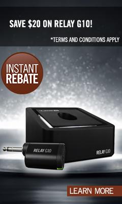 Relay G10 Instant Rebate - October 2019