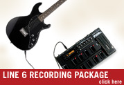 The New Complete Line 6 Recording Package For One Low Exclusive Price!