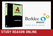 Study Reason 4 Online with Berklee College of Music