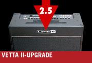 Die Vetta 2.5-Version bietet noch mehr Verstärker, Boxen und Effekte… und ist KOSTENLOS!